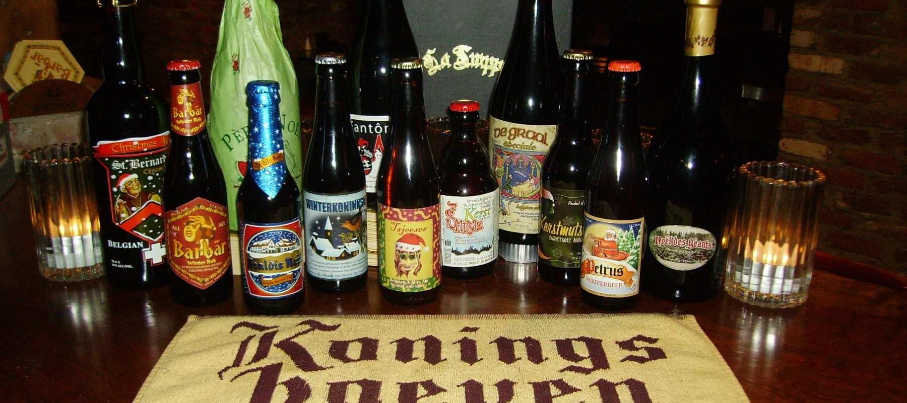 Winter Beer Selections