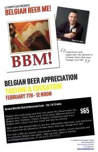 Belgian Beer Me