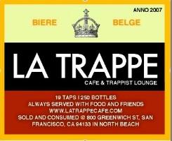 La Trappe Cafe