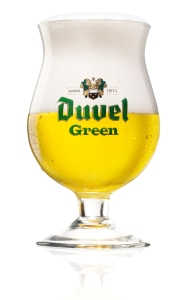Duvel Green  green Glass