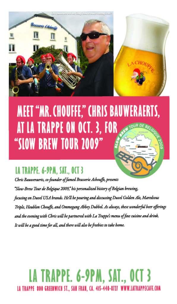 La Trappe  Slow Brew invite.outlines
