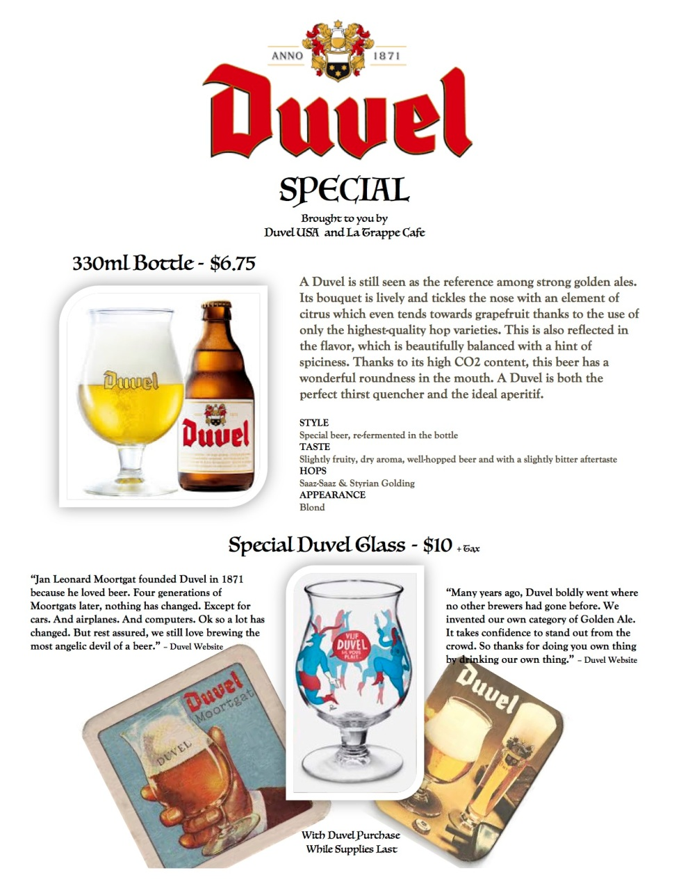 Duvel Special